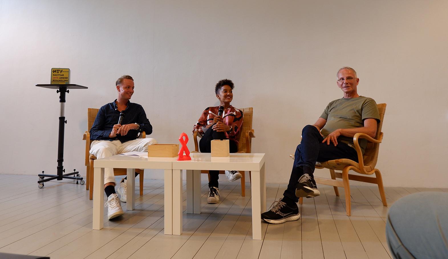 Panelsamtal om hiv på Konsthallen i Malmö